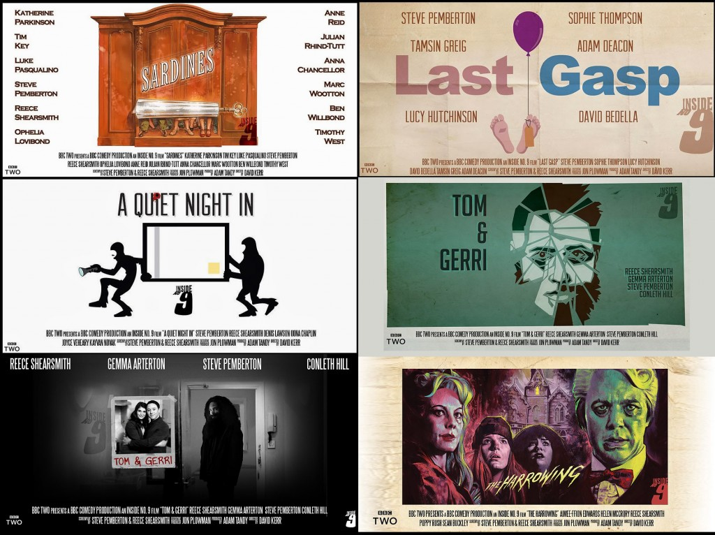 posteres inside no 9 serie bbc primera temporada