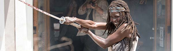 the walking deaad review 6x03 michonne