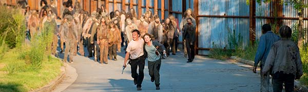 Start to Finish critica the walking dead