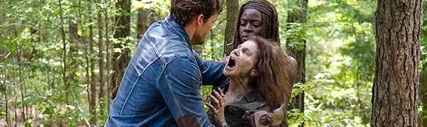 The Walking Dead 6x10 deanne zombi