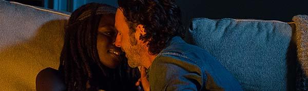 The Walking Dead 6x10 michonne rick